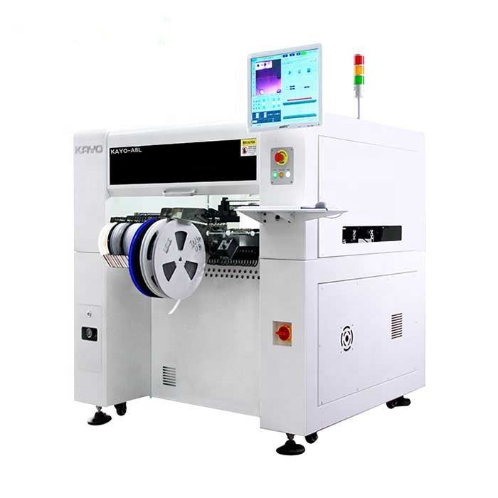 KAYO Fully Automatic 8 Nozzles Pick and Place Machine for LED Lamp Production Line with Excellent Quality and Performance