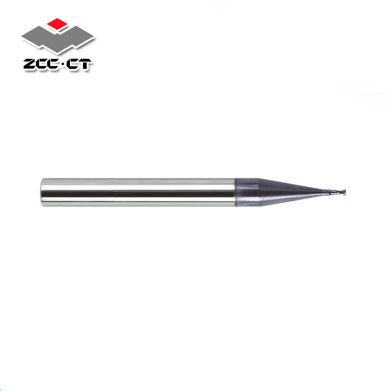 ZCC-CT's best sold end mill 0.3mm with high speed and high precision suitable for high precision electronic components machining