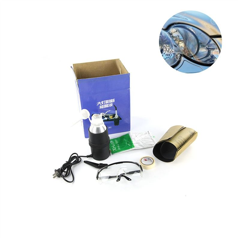 Allplace Car Headlight Restoration Kit Headlamp Refurbished Atomized Cup Lens Scratches Yellowing Aging Blurring Cracking