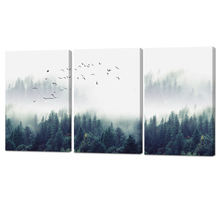 Newest 3 piece stretched canvas printing art large living room wall pictures