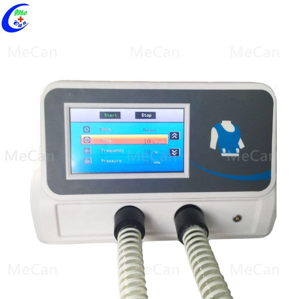 Chest Physiotherapy Vest Airway Clearance System Vest Vibrator Device For Child and Adult