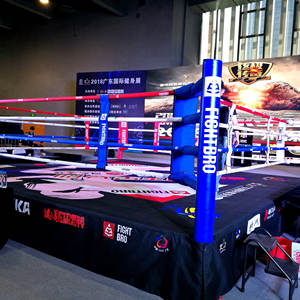 FIGHTBRO Custom Canvas MMA fighting Thai Elevated training ring used boxing ring for sale