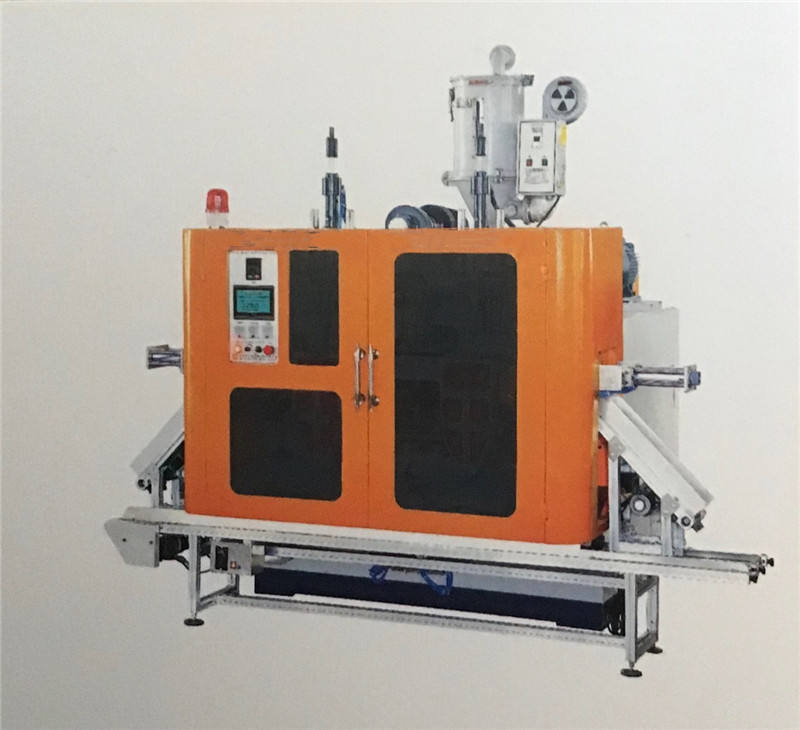 hdpe plastic processed great blow molding machine