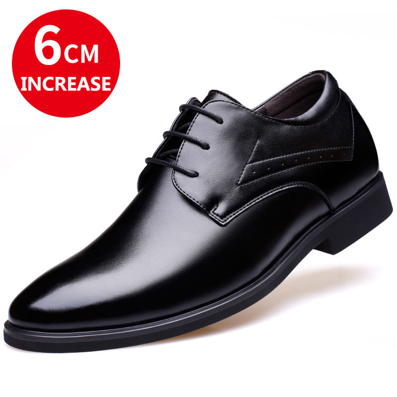 Latest Formal Oxfords Classic Invisible Height Increasing Shoes For Men