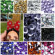 Plastic Flatback Ab Clear Resin Rhinestone Foiled Crystal Flat Back Black Resin Stones