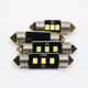 UNJOYLIOD Chipsets white Festoon Interior Dome Map Trunk Cargo LED Bulbs Lights 31 36 39 41mm 3030 LED