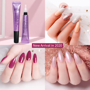 Neue Globale Mode One Step gel UV Gel 3 in 1 59 farben optional von Gel Nagellack