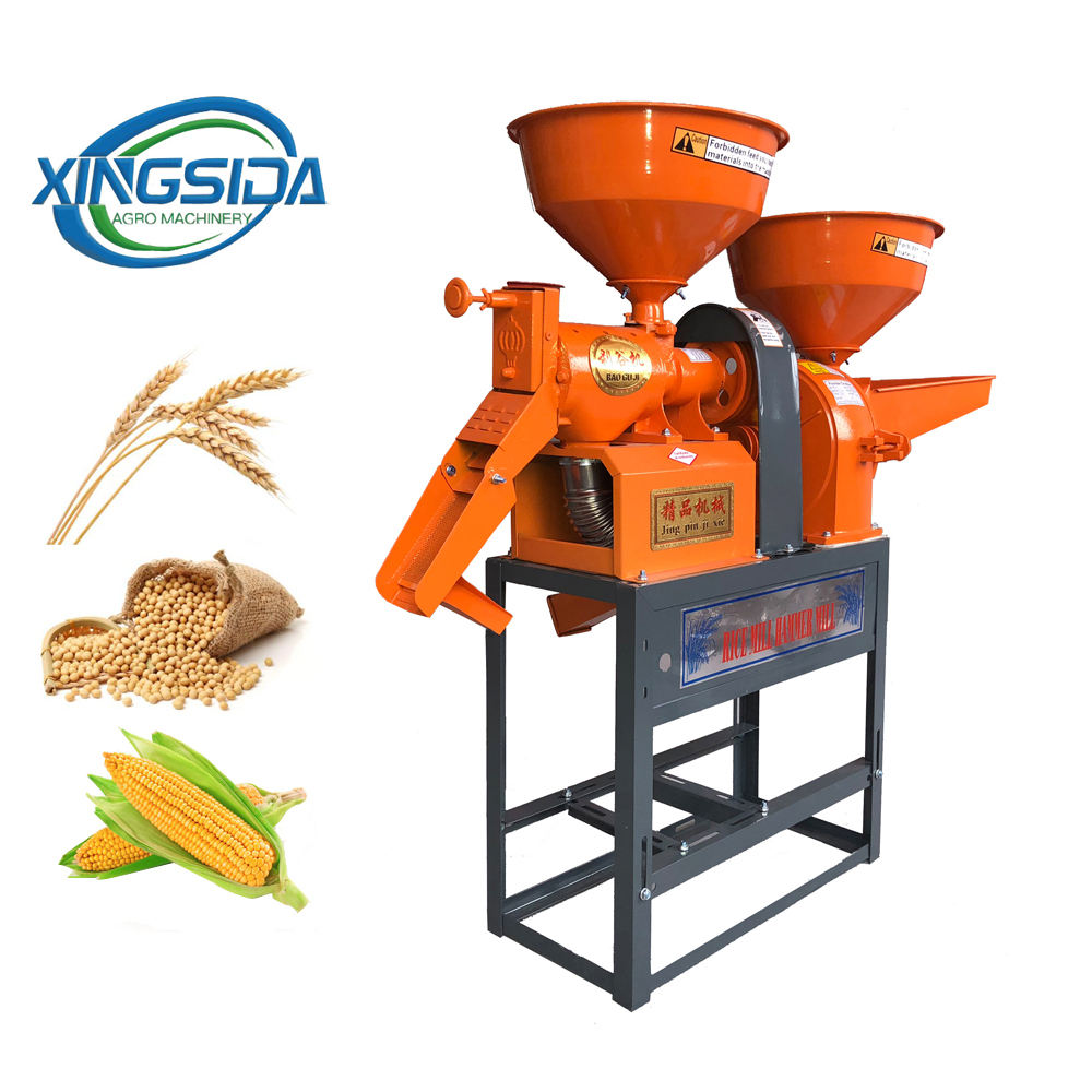 High quality Agricultural satake rice mill combined rice mill machine price