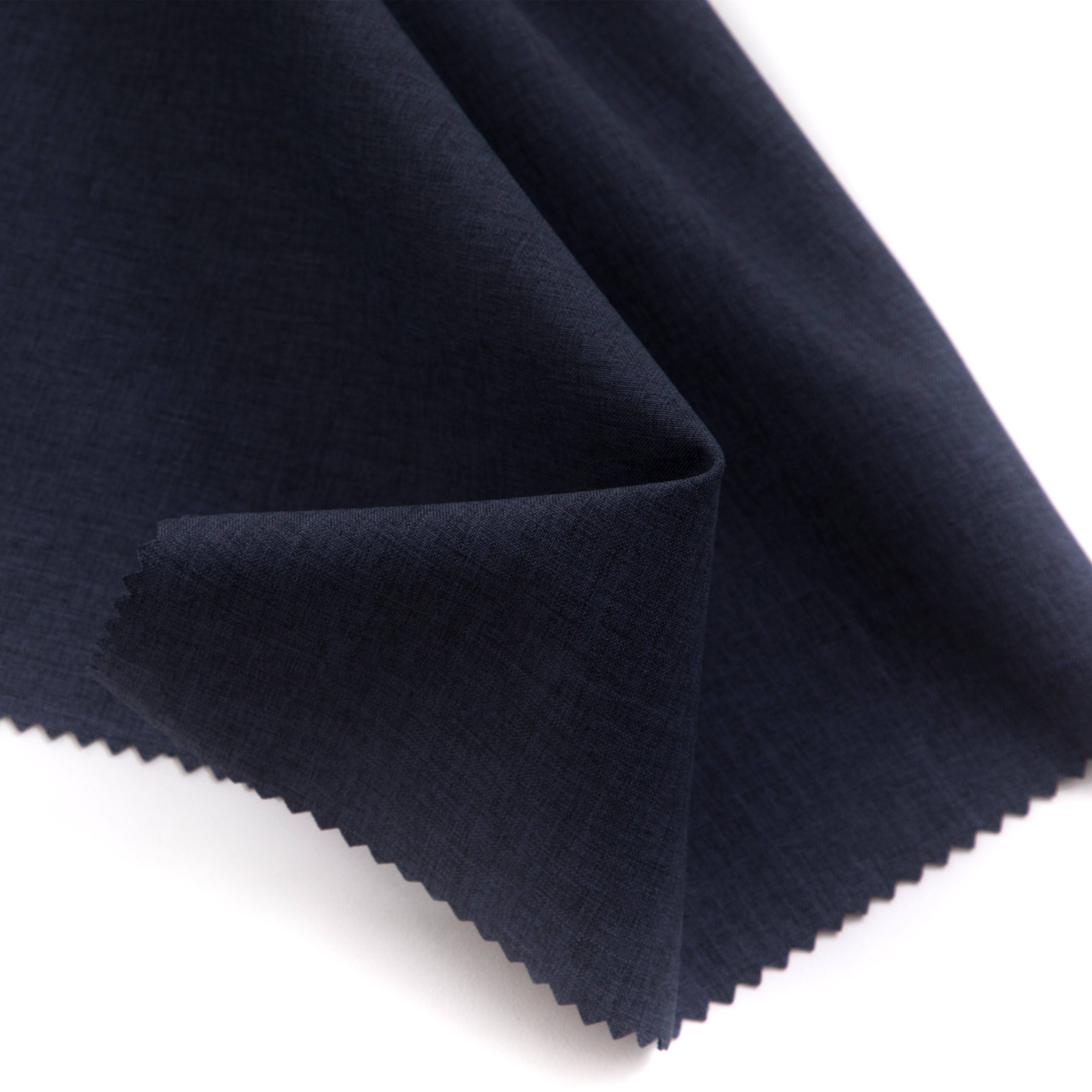 100 polyester 150D cationic functional fabric with TPU and birdeyes combined fabric for down jackets