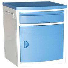 Most hot sale high stand ABS plastic case Bedside cabinet hospital cabinet