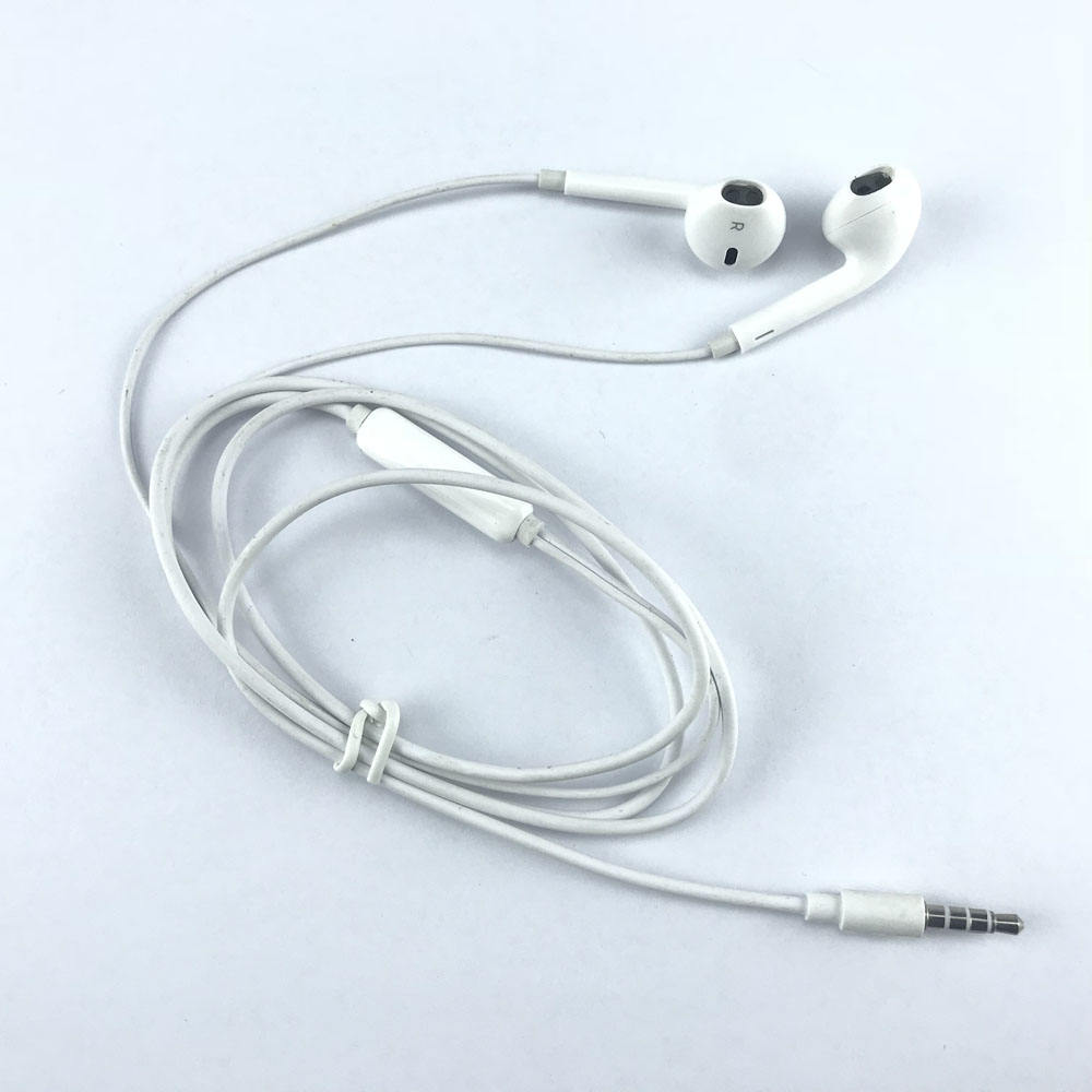 Custom sport metal low price headphone braided wired earphone parts