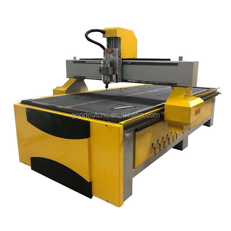 Low cost cnc milling machine wood with router bit