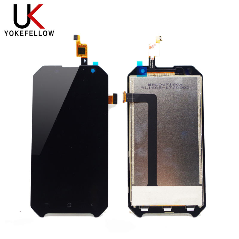 100% Tested LCD Display For BlackView BV6000 LCD Display Touch Screen Assembly Replacement Digitizer