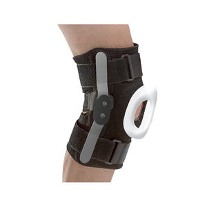 Hot selling adjustable patella support protective knee brace compression sleeve