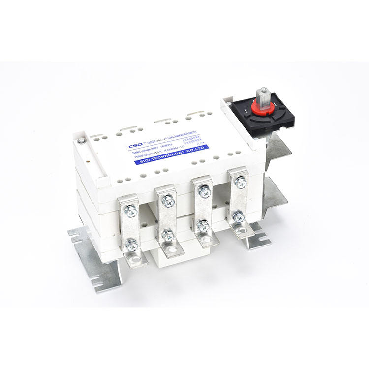 Low voltage high quality 200 amp 3P manual transfer switch 4 pole isolator switch outdoor use 220v 3 phase isolator switch