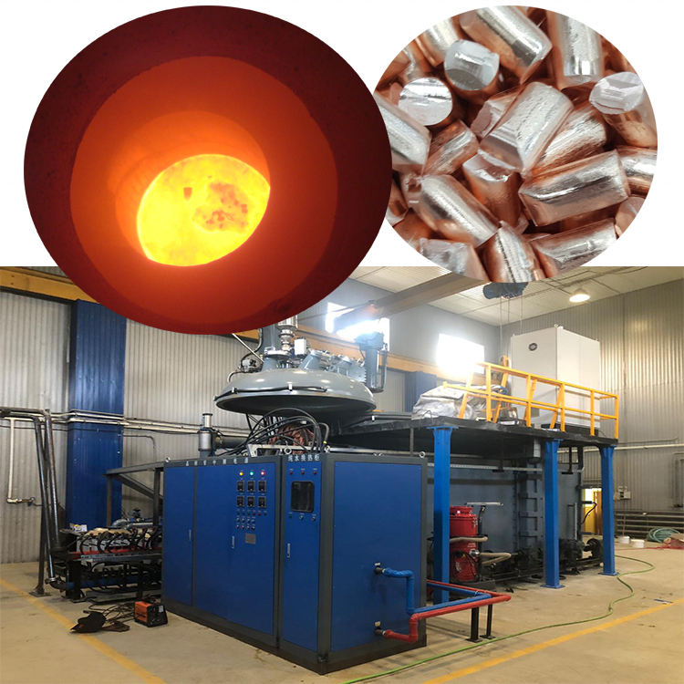 vacuum induction melting casting ingot furnace
