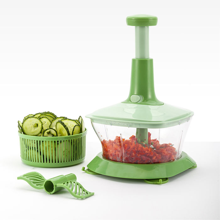 Hand Held Vegetable Chopper Hot Sell Kitchen Use Multi-functional Hand Held Vegetable Press Chopper