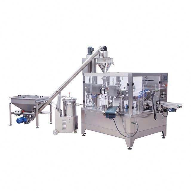 GD8-200B Fully-Automatic Rotary powder packing machine