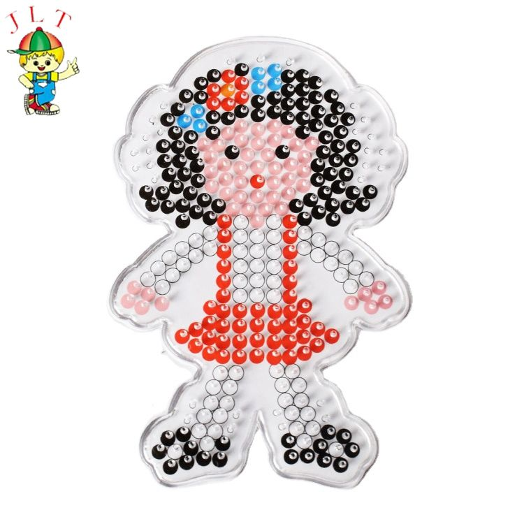 Online shopping new products diy educational toys pegboard kids perler beads 5mm hama beads