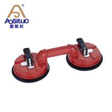 aluminum 130KG double vacuum pads glass suction lifter tool