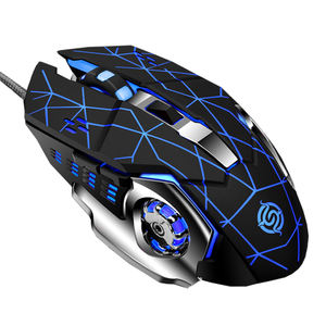 2020 Best sale wired the Ergonomic Professional gaming mouse silent usb gaming LED backlight Colorful Lights Computer Mouse