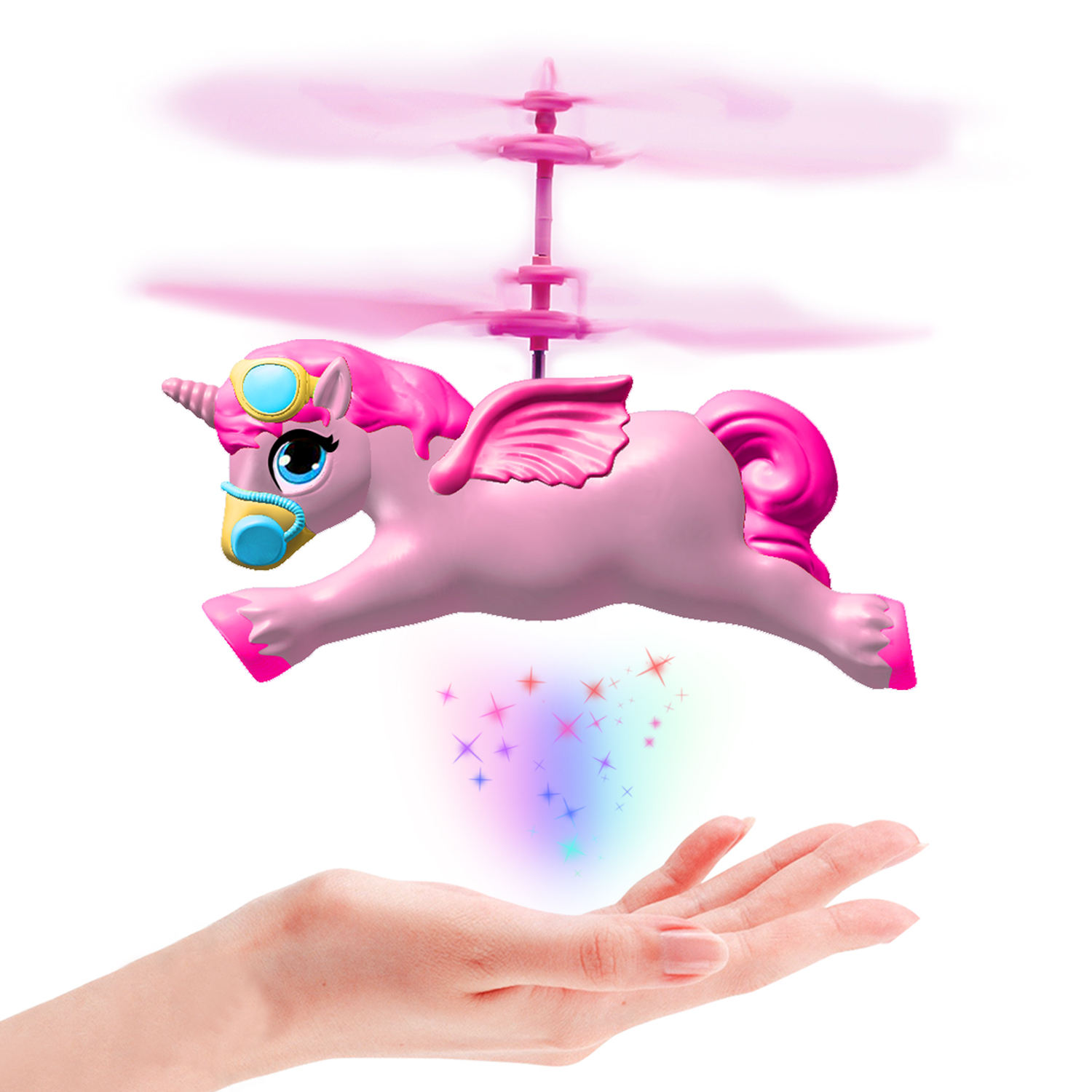Factory Directly Supply New Listing Hand Sensor unicorn Helicopter Toys For Kids
