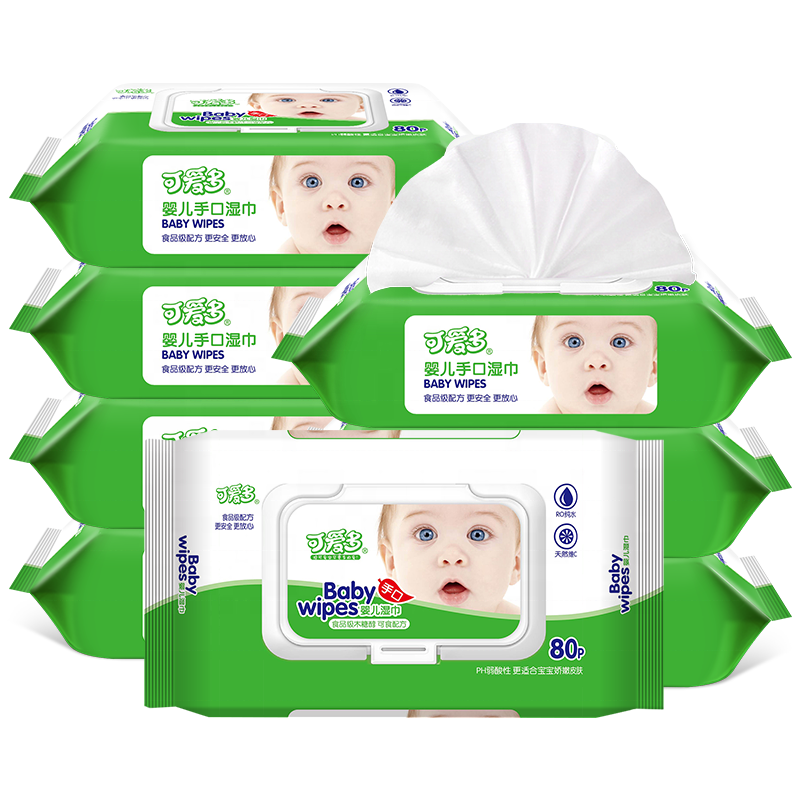 Custom Water Wipes Babies 99.9 Pure Hand Face And Mouth Baby Wet Wipes