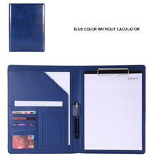 High quality PU leather file folder with custom logo