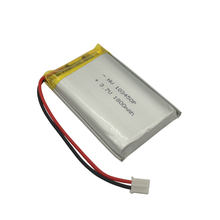 103450 li ion battery prismatic 3.7v 1800mah pouch lithium ion battery