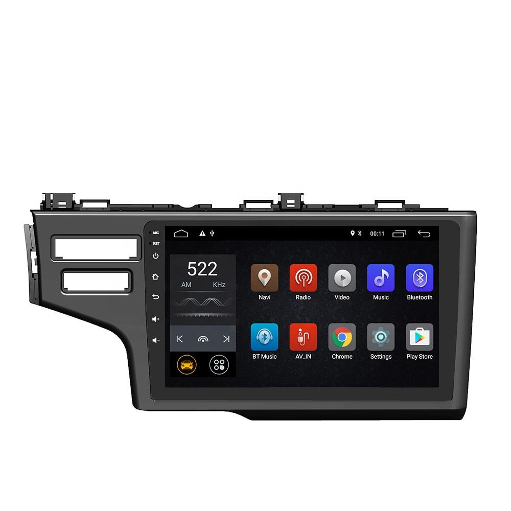 DSP Android 10.0 Car DVD Player GPS Navigation Multimedia For Honda Fit Jazz Radio 2014 2015 2016 2017 RHD car stereo Head Unit