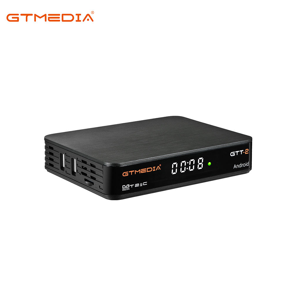 Set top Box Freesat Upgraded to GTMedia GTT-2 S905D Android TV Box Software to Flash DVB-T2/C Cable Digital TV Receiver