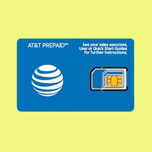 AT&T Up to 22 GB of 4G LTE Data Prepaid Travel SIM Card with 7 Days service in USA, Canada and Mexico-N
