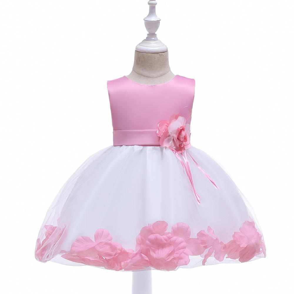 B-7723 Baby Dresses Newborn Kids Clothing Suppliers China Latest Kids Birthday Party Dress For Girl