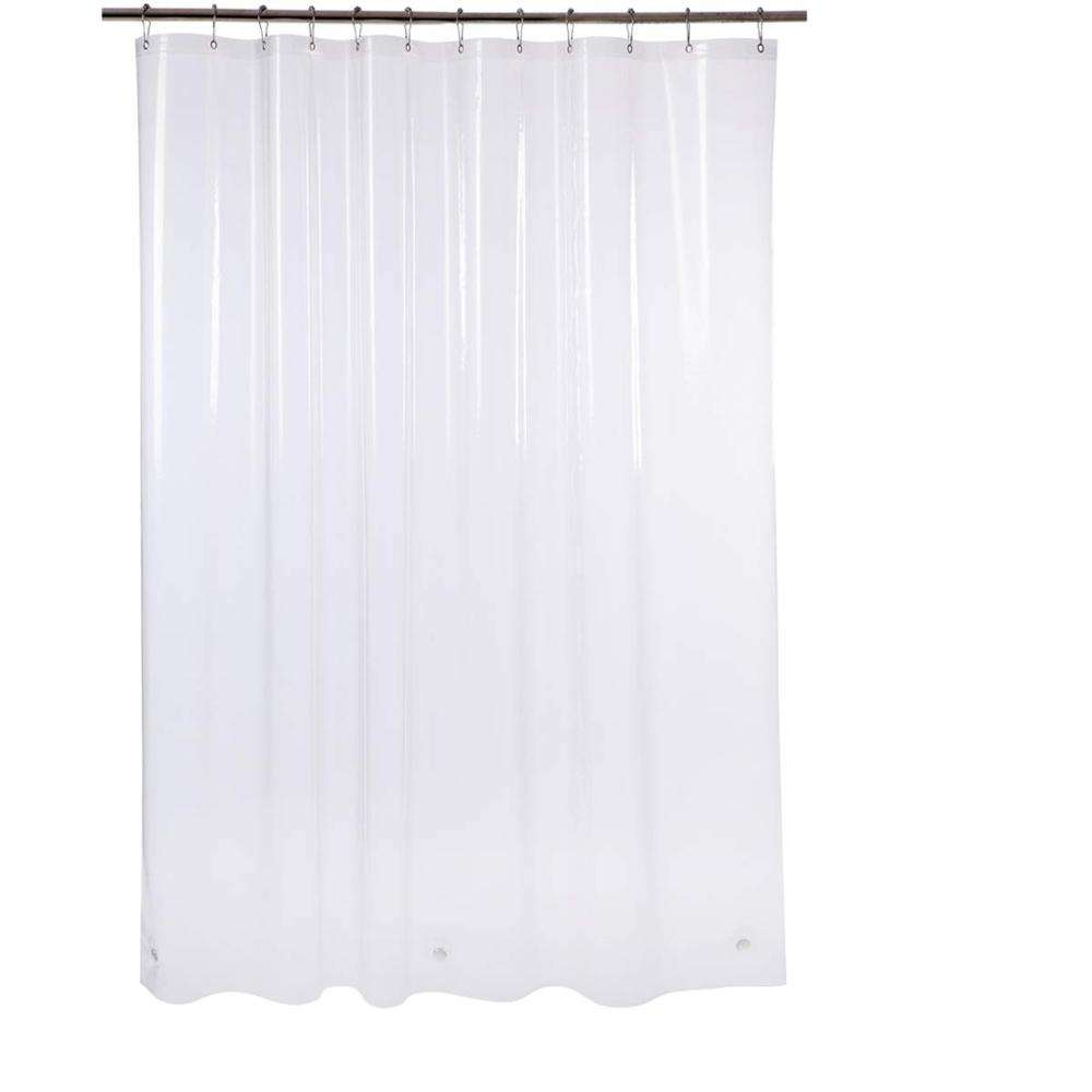 Heavy Duty non-toxic 8 gauge frosted PEVA shower curtain liner
