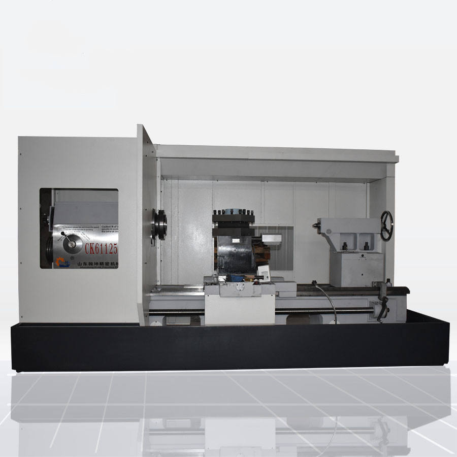 computer controlled lathe CK61125 servo motor new cnc lathes prices