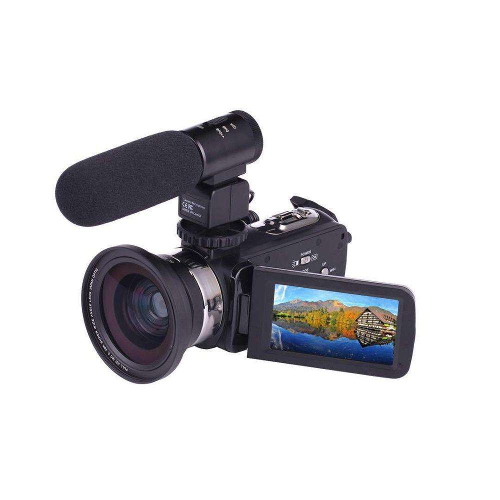 4K HD Digital Camera Travel Daily Shooting Wedding Photography Professional Edition Handheld DV Can Shoot At Night