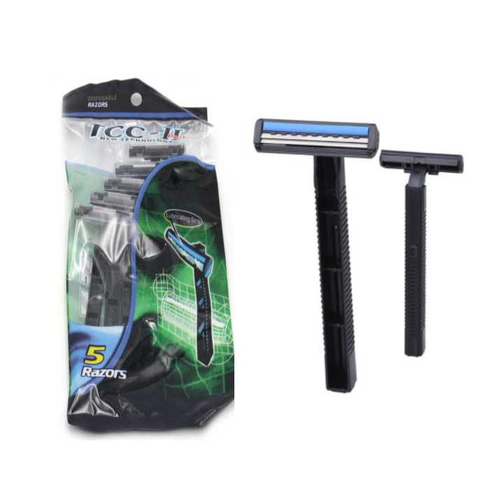 Yes disposable no electric twin blade shaving razor blade