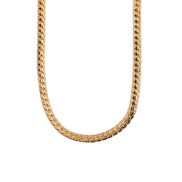 Toptan fiyat 14 k altın dolgulu zincir, erkekler için dubai yeni altın zincir tasarımı