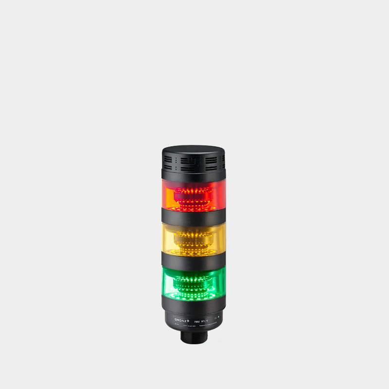 Hofon 70 Mm <span class=keywords><strong>Flash</strong></span> Led Signal Tower Light Met Buzzer