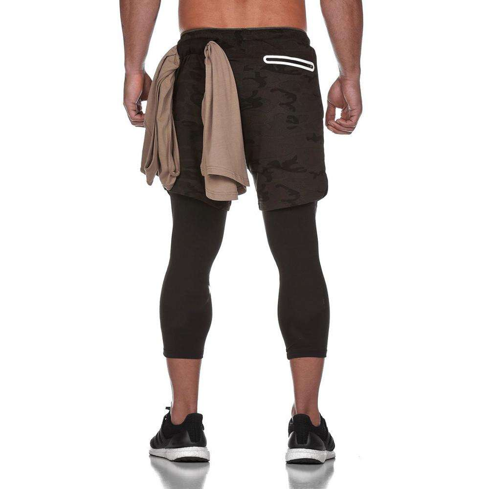 Groothandel Mannen Workout Running 2 In 1 Dubbeldeks Training Gym <span class=keywords><strong>Shorts</strong></span> Met Zakken Sport <span class=keywords><strong>Shorts</strong></span> Broek