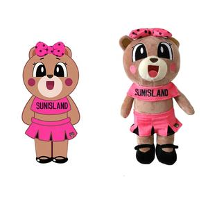 Polyester Fiber Super Soft OEM Stuff Doll Plush Teddy Bear Toys Worth a Look