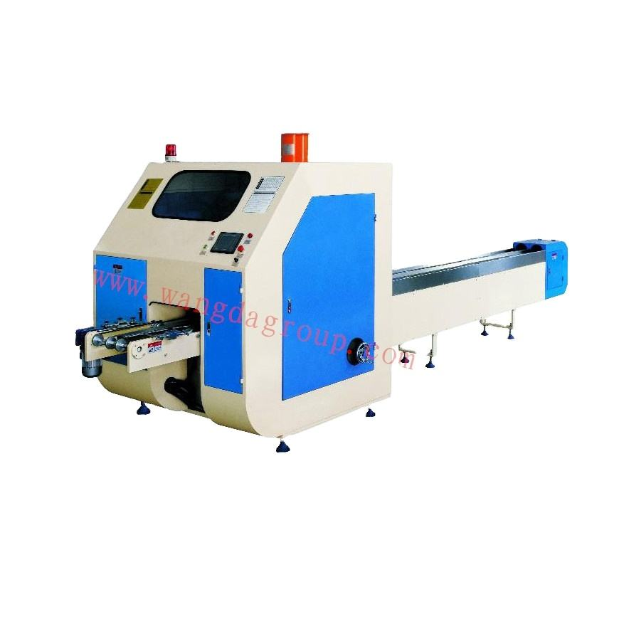 Chinese Manufacturer Full Automatic High Speed Log Saw Mill WD-LSM-III paper cup cutting machine