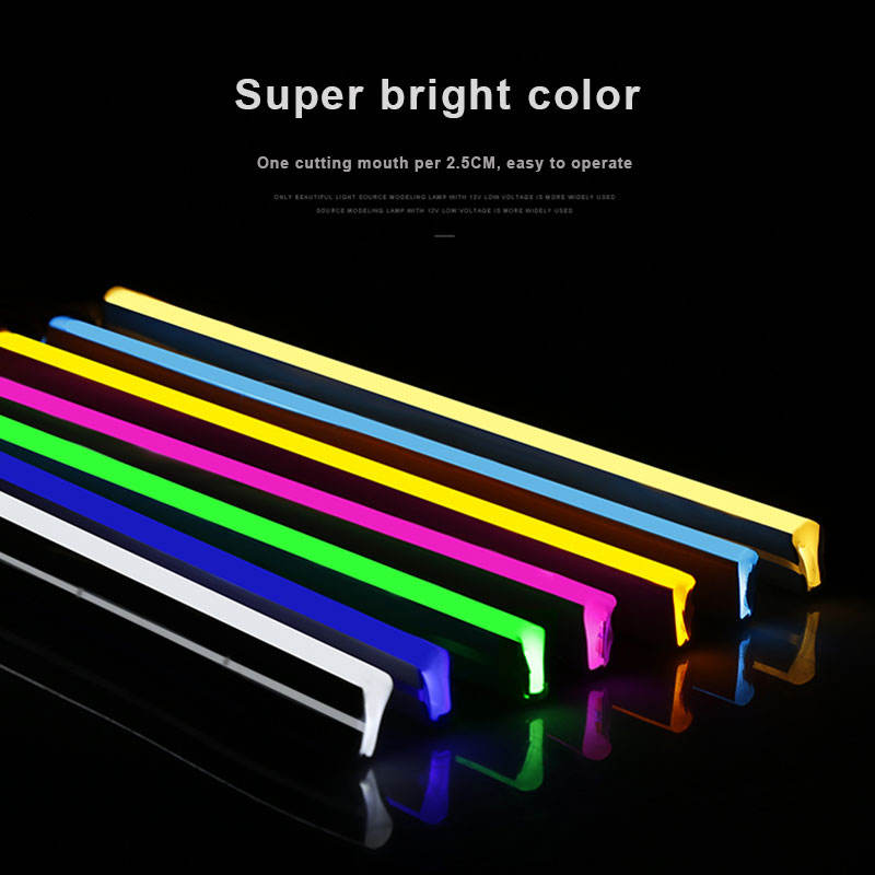 Fashion Style 18 Inch Subwoofer Dekoration Led Rgb Flex Neon Lights For Signs