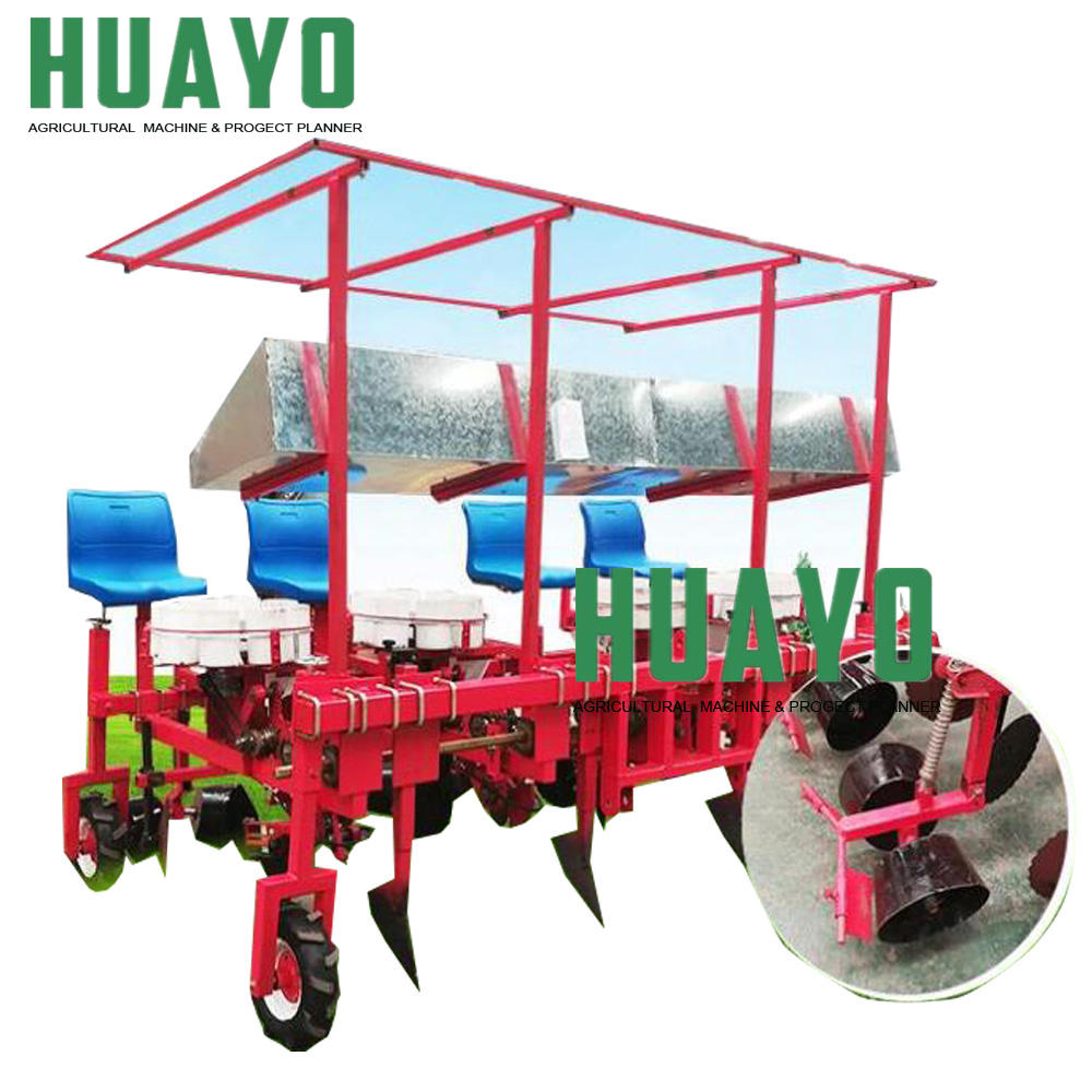Vegetable Seedling Transplanter machine for onion, tomato, carrot