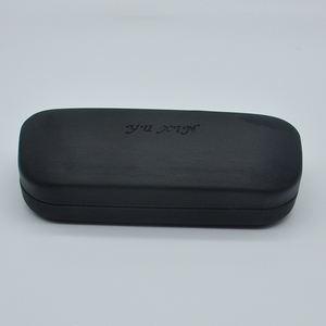 High quality portable magnetic metal cheap custom color design eye sun glasses case