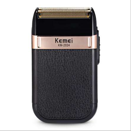 Kemei 2024 Razor Reciprocating Electric ShaverためMen Double Blade防水Wireless USB Rechargeable Shaver Barber Trimmer