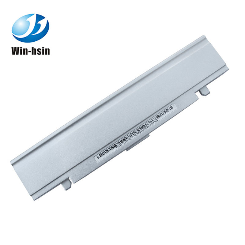 White rechargeable 6 cells laptop battery for samsung x25