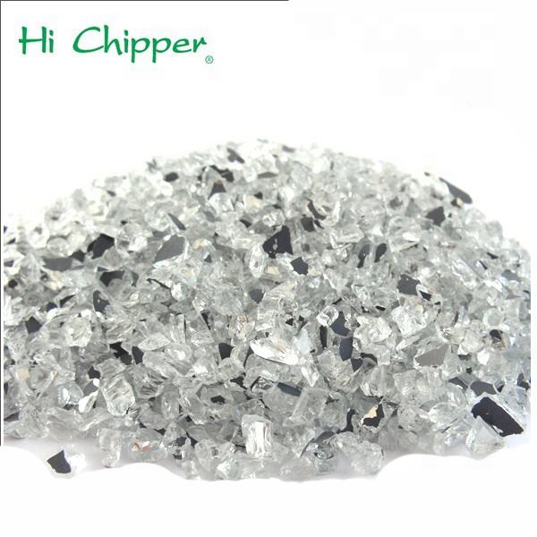 China artificial marble glass mirror chips scrap glass cullet market prices