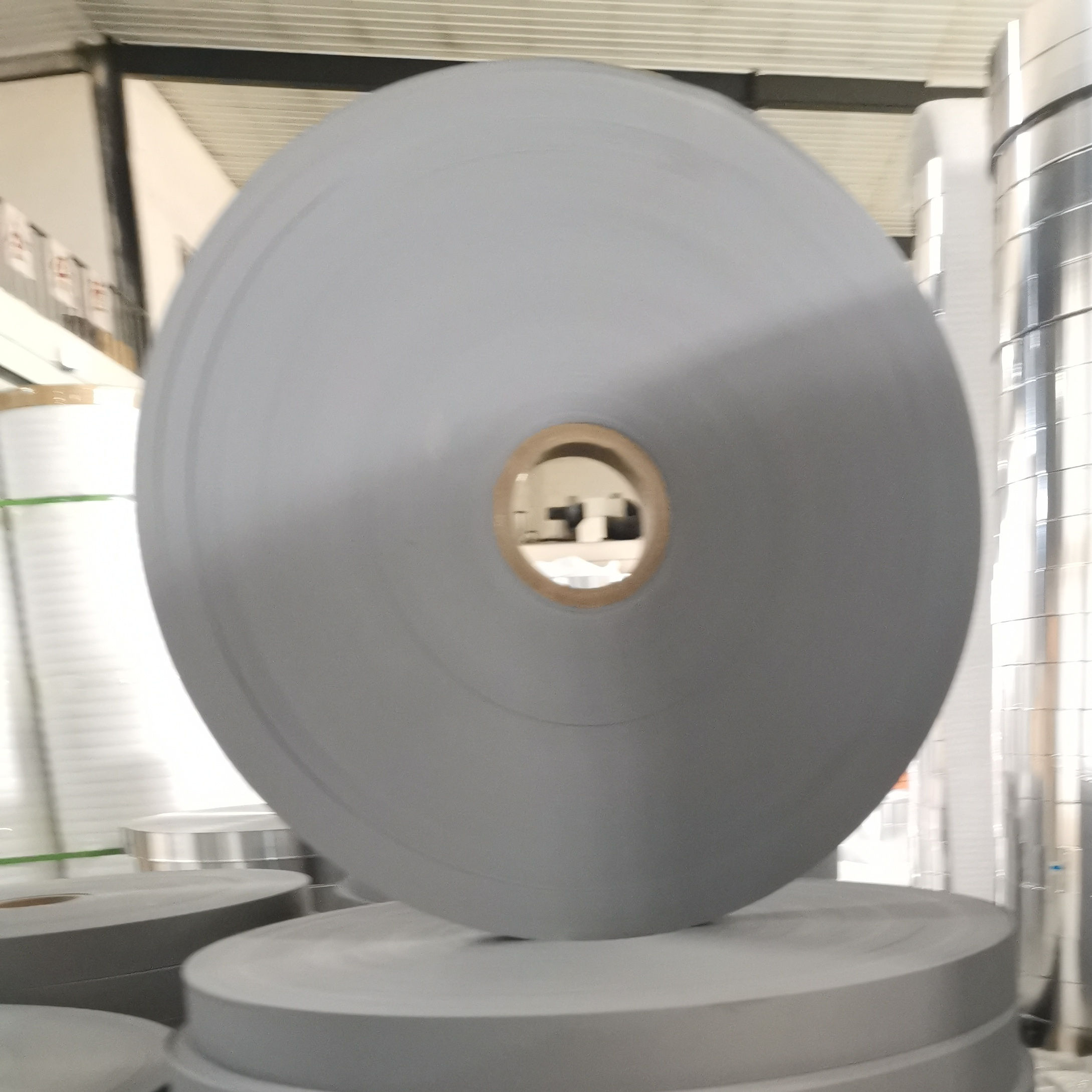 PVC film tape for black and white gray packaging, packaging material
