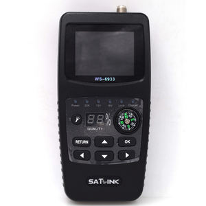 Satlink WS 6933 Digital HD Satelit Finder Meter Menu: Bahasa Inggris/Rusia/Portugis/Turki